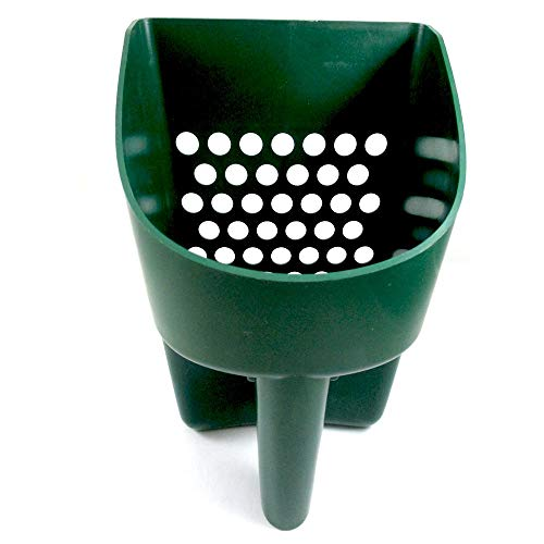 SE Prospector Series Green Sand Scoop for Metal Detecting - GP3-SS20